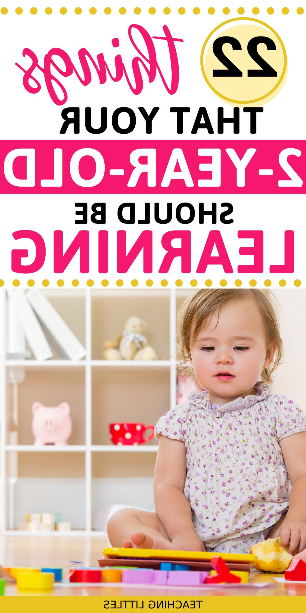Quelle activité pour bébé 2 ans ?